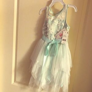 Girl's Layered Tulle Dress Size 5